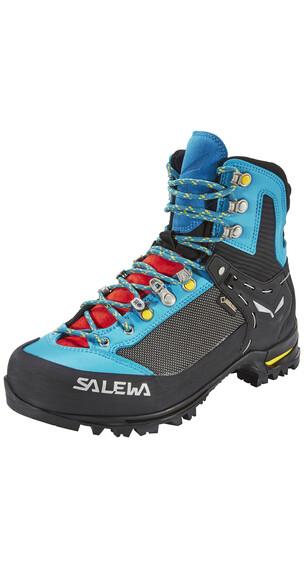 Salewa Raven 2 GTX Schoenen Dames zwart/turquoise